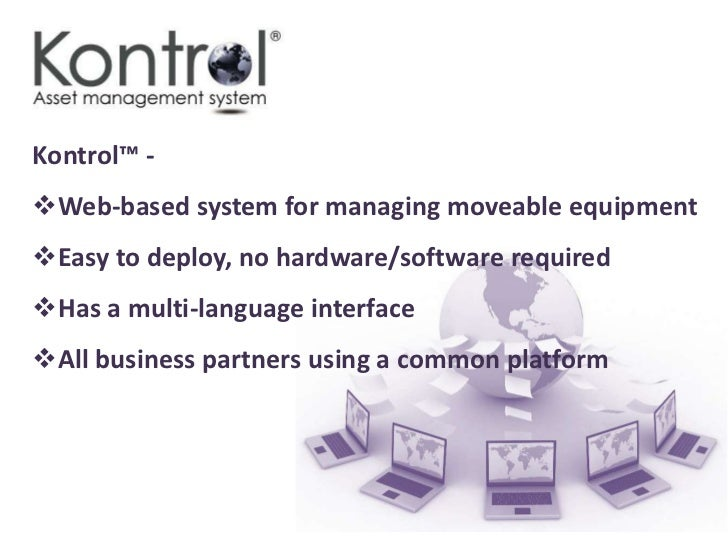 But managingequipment between partners, across all  locations, can be a         headache….