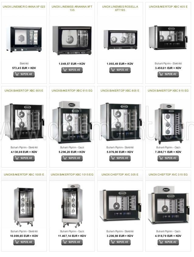UNOX LINEMICRO ANNA XF 023  Elektrikli  573,45 EUR + KDV  UNOX LINEMISS ARIANNA XFT  135  1.049,57 EUR + KDV  UNOX LINEMIS...