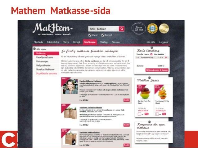 Mathem Matkasse-sida               @conversionista