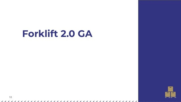 10 Forklift 2.0 GA