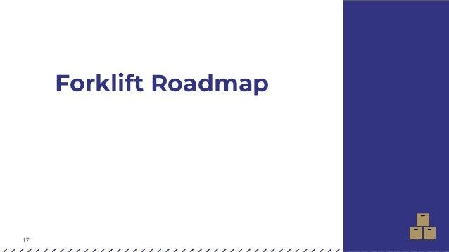 17 Forklift Roadmap