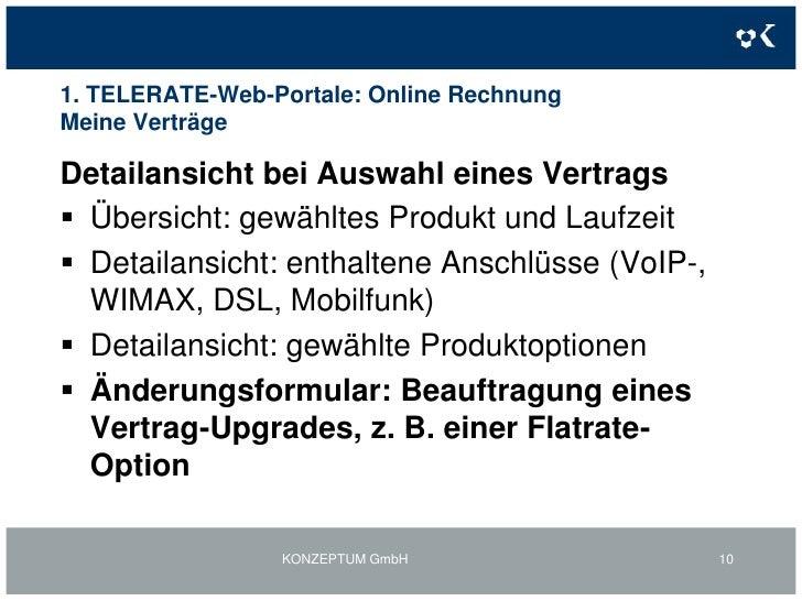 Formular für Änderungsanfragen</li></li></ul><li>1. TELERATE-Web-Portale: Online RechnungMeine Daten- Änderungsformular<br...