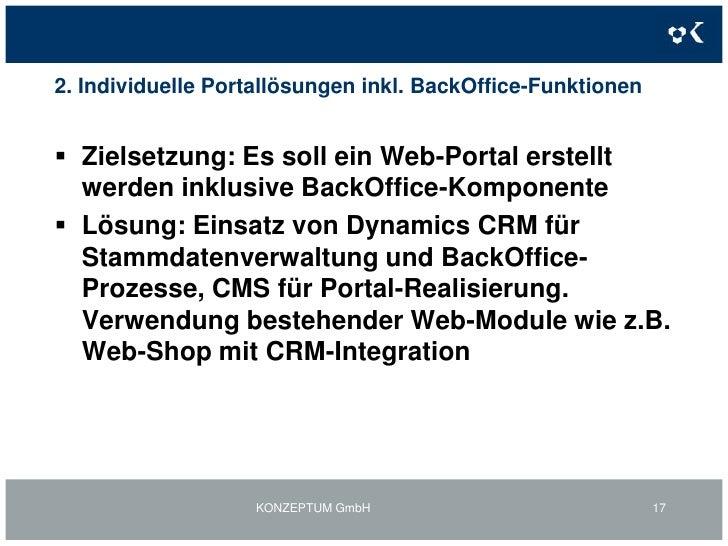 1. TELERATE-Web-Portale: Online Rechnung<br />KONZEPTUM GmbH<br />14<br />Inhalte<br />- Anzeige der in den letzten 3 Mona...