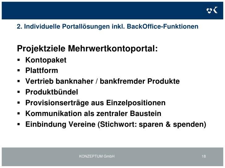 1. TELERATE-Web-Portale: Online RechnungMeine EVN-Statistik-Beispiel<br />KONZEPTUM GmbH<br />15<br />