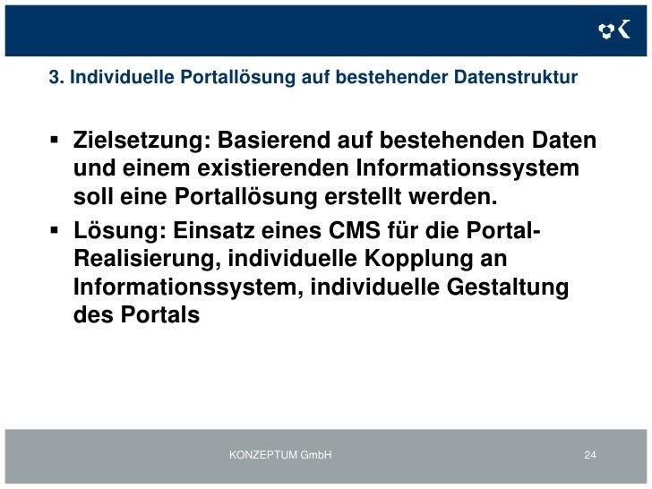 2. Individuelle Portallösungen inkl. BackOffice-FunktionenMehrwertkontoportal Startseite - Detailansichten<br />KONZEPTUM ...