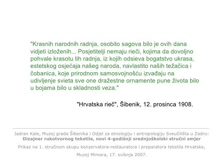 "Click any key to continue. ""Hrvatska rieč"", Šibenik, 12. prosinca 1908. ""Krasnih narodnih radnja, osobito s..."