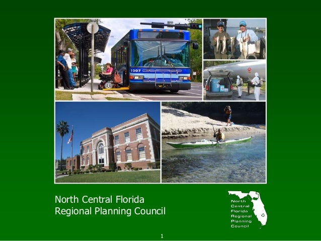 1 North Central Florida Regional Planning Council