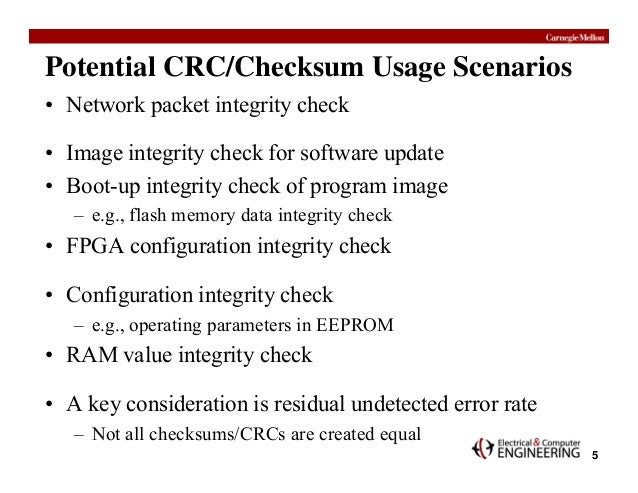 Crc example ppt.