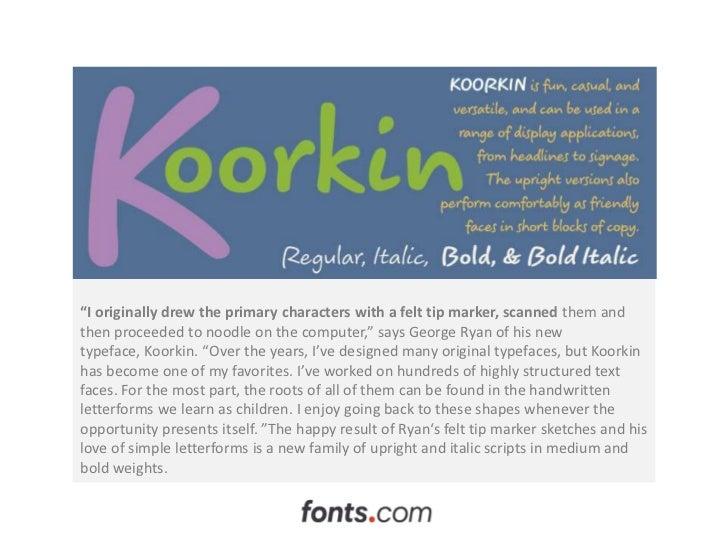 Koorkin by George Ryan Slide 3
