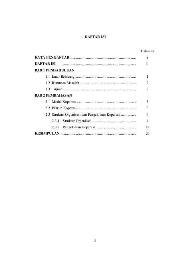 Hasil Survei Koperasi Pasar Tanjung Mata Kuliah Ekonomi Koperasi