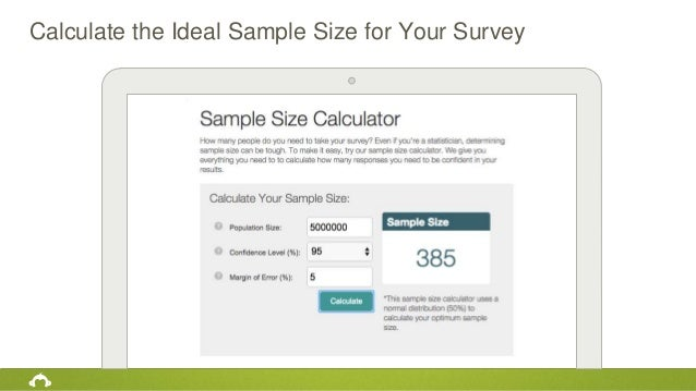 Calculate the Ideal Sample Size for Your Survey