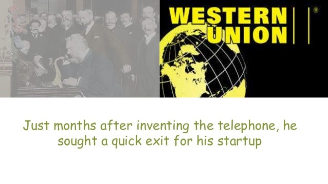 Just months after inventing the telephone, he sought a quick exit for his startup