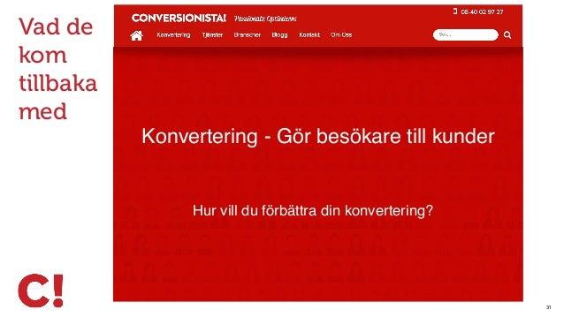 33 En av Sveriges största E-handlare