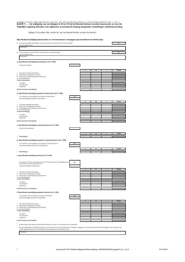 Bijlage III bij de regeling van de minister van Binnenlandse Zaken en Koninkrijksrelaties van … 2011,BJZ2011… , tot wijzig...