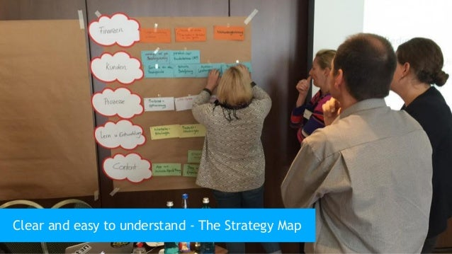 40 Clear and easy to understand - The Strategy Map