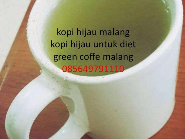 Manfaat Kopi Hijau Untuk Diet