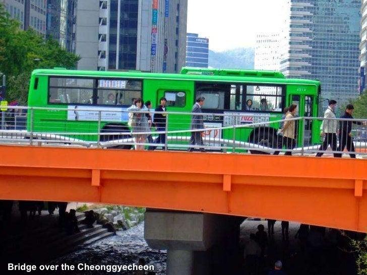 Bridge over the Cheonggyecheon