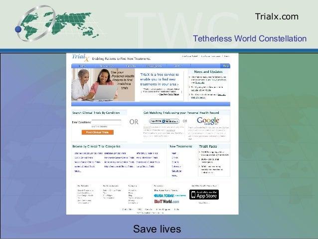 Tetherless World Constellation Trialx.com Save lives