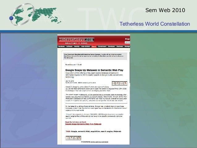 Tetherless World Constellation Sem Web 2010