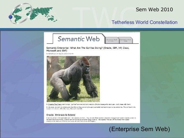 Tetherless World Constellation Sem Web 2010 (Enterprise Sem Web)
