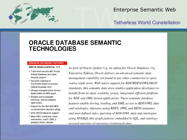 Tetherless World Constellation Enterprise Semantic Web