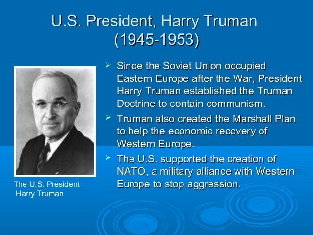 Harry Truman Creates the Truman Doctrine