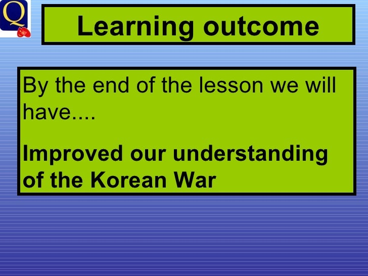 the outcome of the korean war The announcement ended the costly full-scale civil war between the chinese communist  the outcome of the  the korean war.