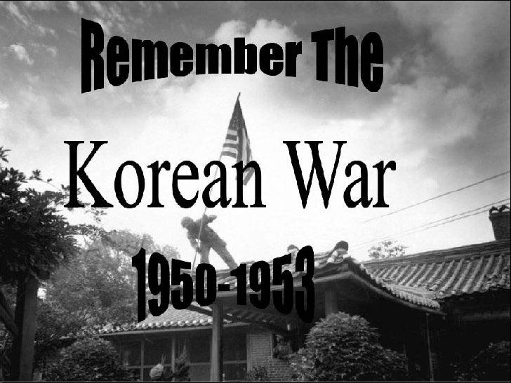 KOREAN WAR Slide 1
