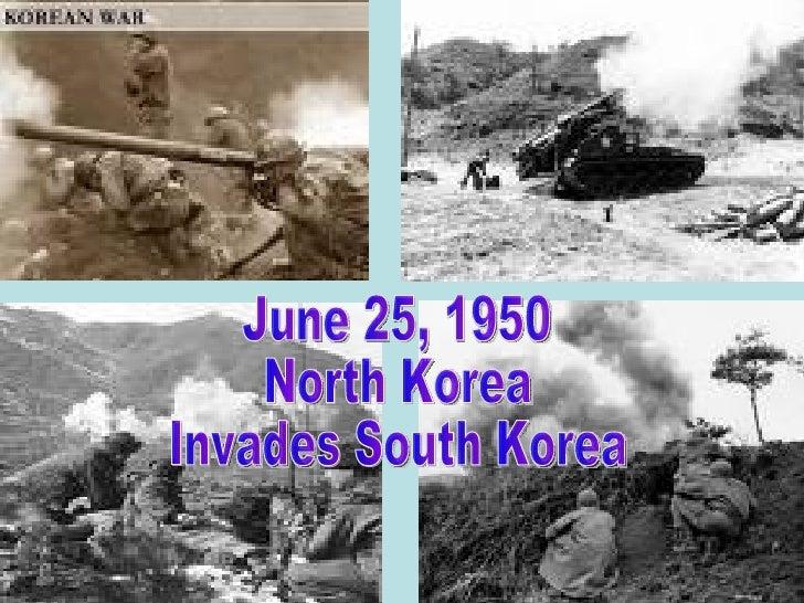 KOREAN WAR Slide 2