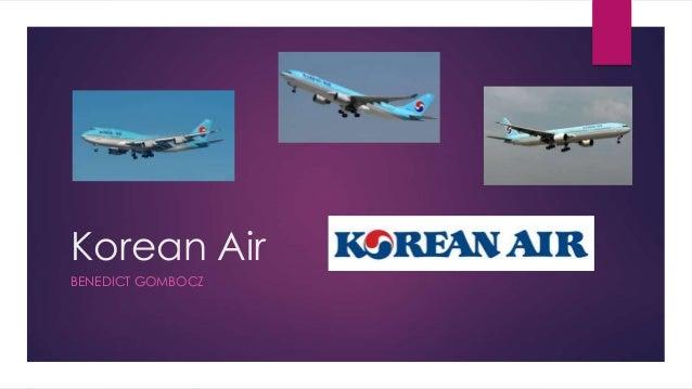 Korean Air BENEDICT GOMBOCZ