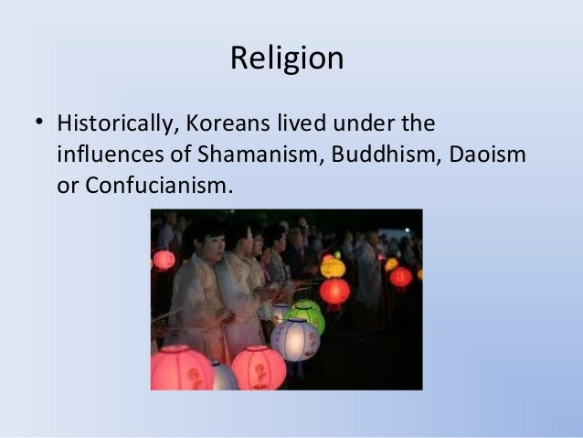 The influence of confucianism and buddhism