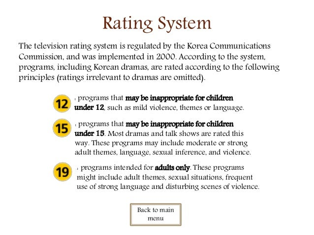 korean drama rating