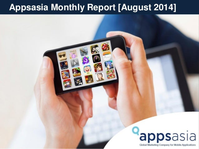 Appsasia Monthly Report [August 2014]