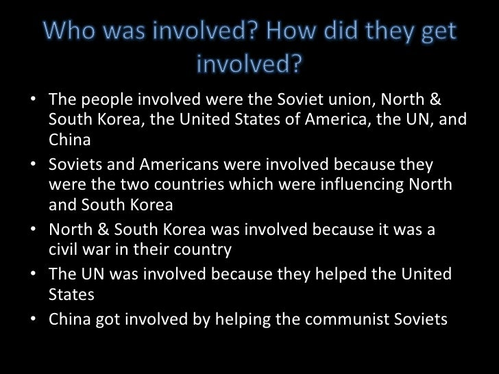 the korean war and involved countries Can you name the countries that fought in the korean war.