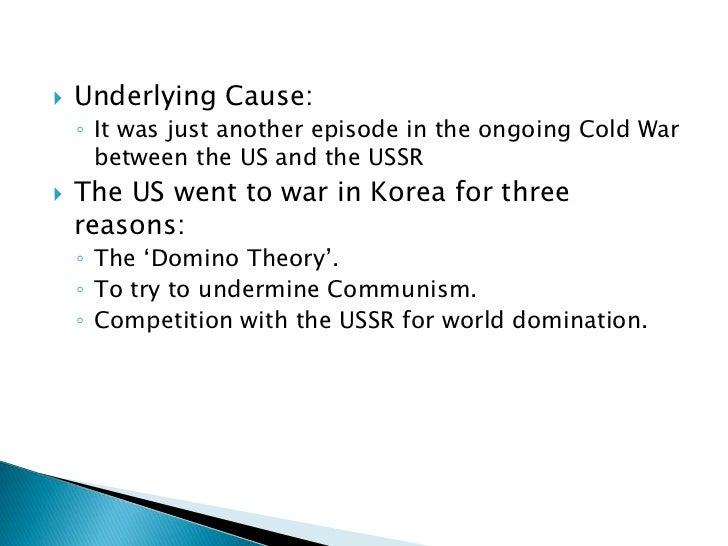 causes of the korean war