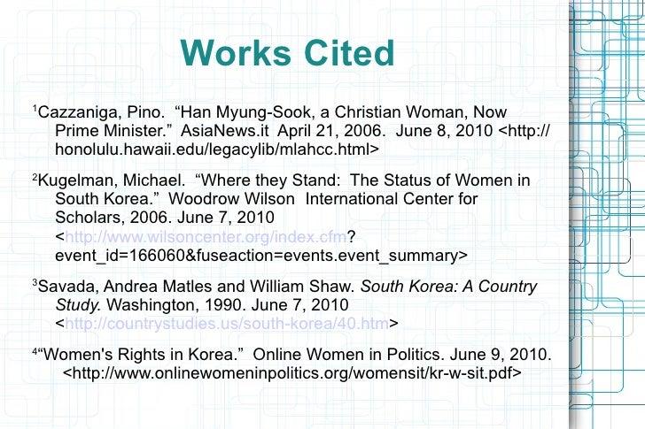 """<ul>Women in Modern Day South Korea </ul><ul>•  Discrimination 2 </ul><ul><ul><li>S.K. corporate culture described as """"sec..."""