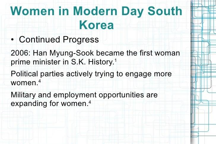 Bar-none maternal health services </li></ul></ul></ul><ul><ul><li>Michael Kugelman notes that S.K. women have both the pro...