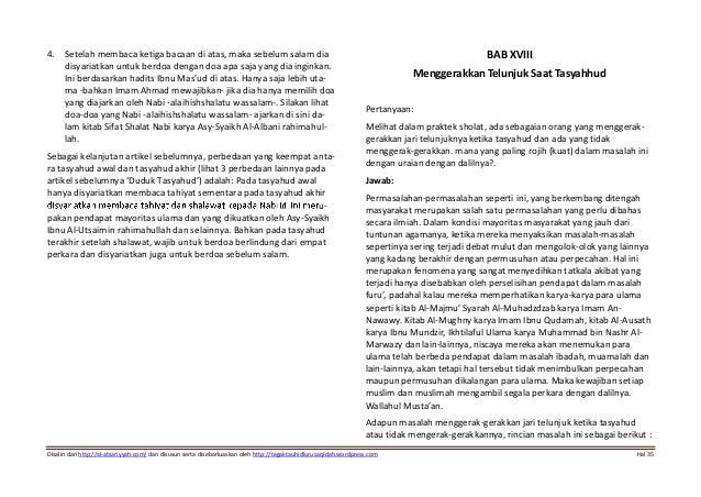 sifat shalat nabi karya asy syaikh al albani rahimahullah pdf