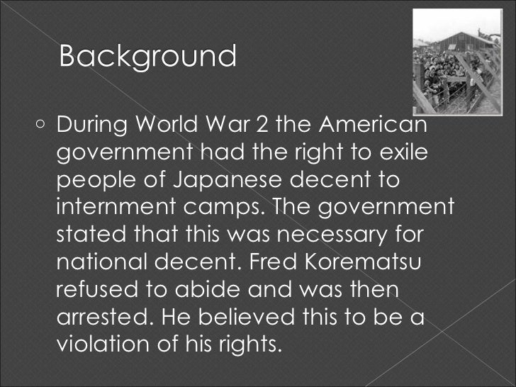 Korematsu v us essay Term paper Academic Writing Service