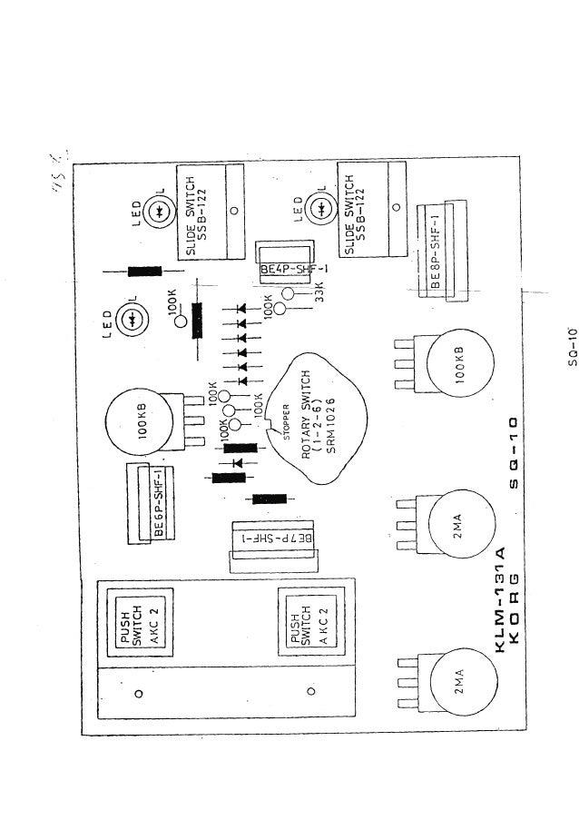 Korg sq 10 service manual
