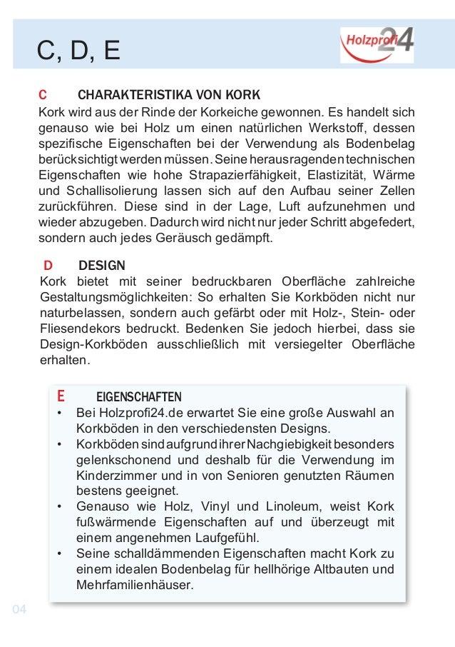holzprofi24 kork fibel. Black Bedroom Furniture Sets. Home Design Ideas