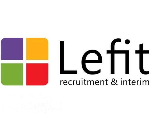 Lefit Recruitment & Interim: ICT, Finance, Engineering & Sales