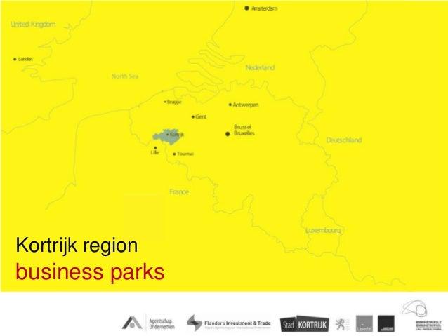 Kortrijk regionbusiness parks