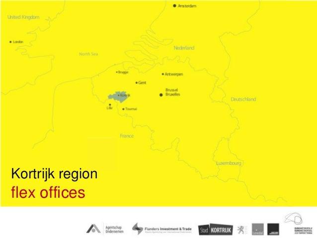 Kortrijk regionflex offices
