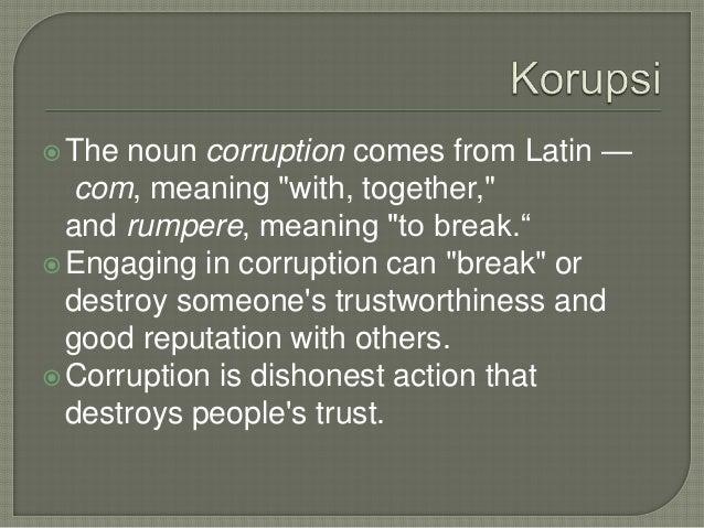 Korupsi Dalam Alkitab
