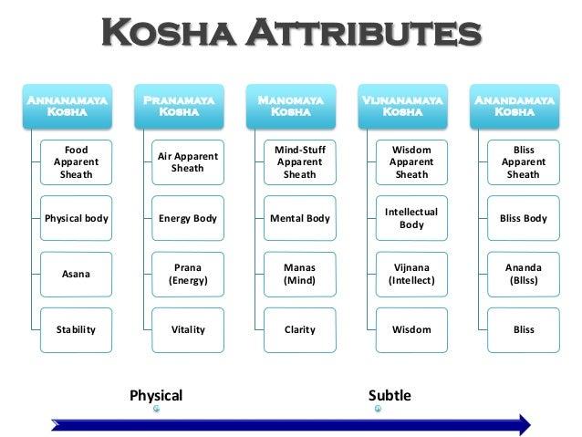 Image result for 5 koshas