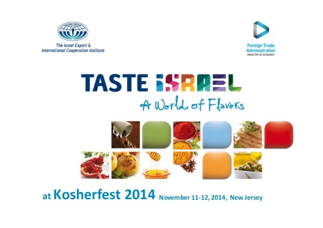 Kosherfest 2014 November 11-at 12, 2014, New Jersey