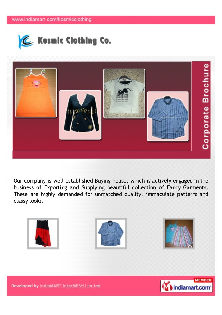 Our company is well established Buying house, which is actively engaged in thebusiness of Exporting and Supplying beautifu...