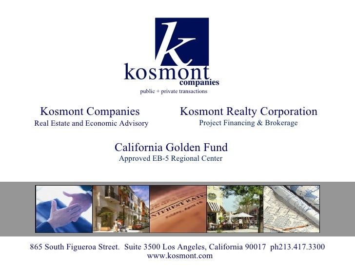 public + private transactions  Kosmont Companies                             Kosmont Realty Corporation Real Estate and Ec...