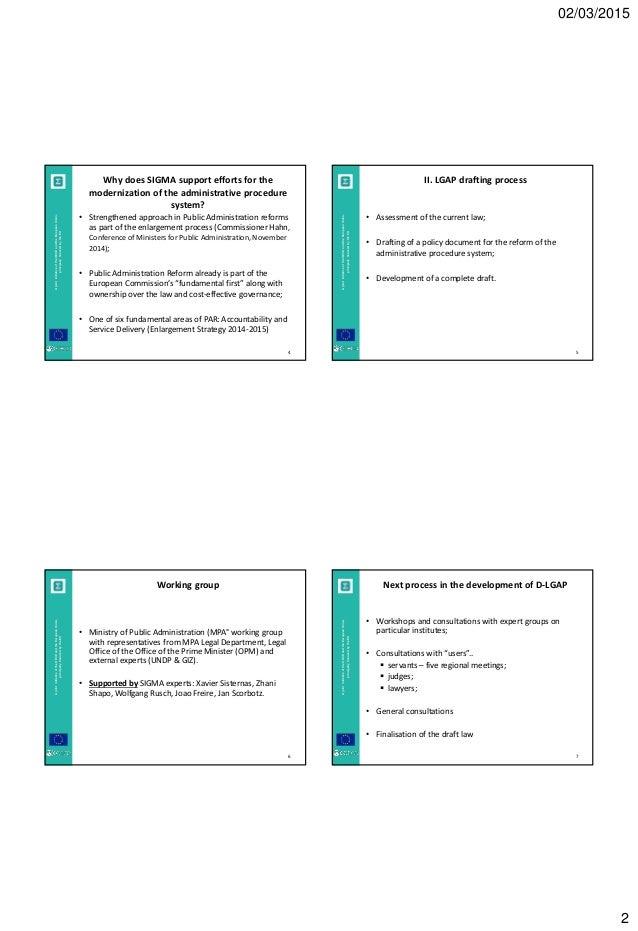 an analysis of administrative procedure act State administrative procedure act, revised model summary the model state administrative procedure act regulatory analysis, direct final rulemaking.